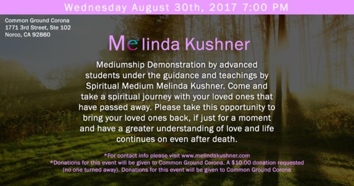 mediumship psychic event