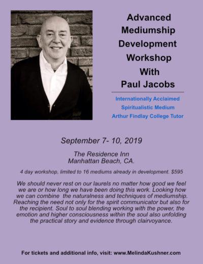 Paul Jacobs Workshop for Advanced Mediums